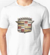 Cadillac Emblem Pattern T-Shirt