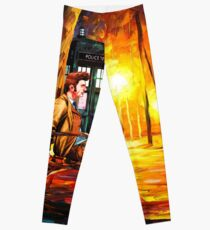 Waiting Back To The Future Leggings