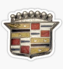 Cadillac Emblem Pattern Sticker