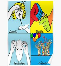 ASL Steps to Success Poster