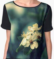 Blossoms At Dusk Chiffon Top
