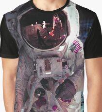 APOLLO-11 LUNAR WALK Graphic T-Shirt