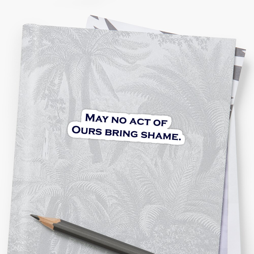 May no Act - Penn State Alma Mater Sticker