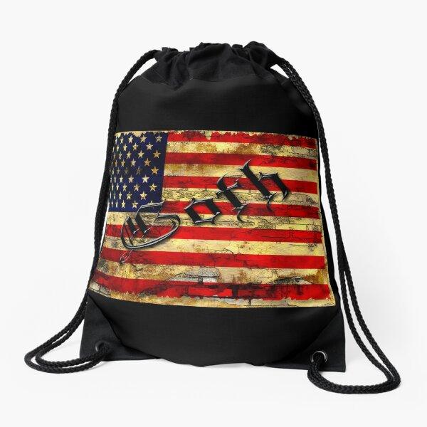 Stars & Stripes Drawstring Bag
