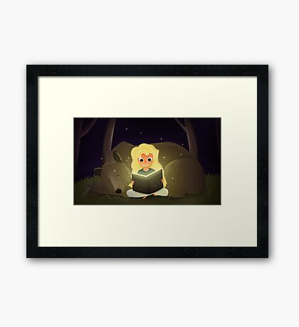 Bedtime Stories Framed Print