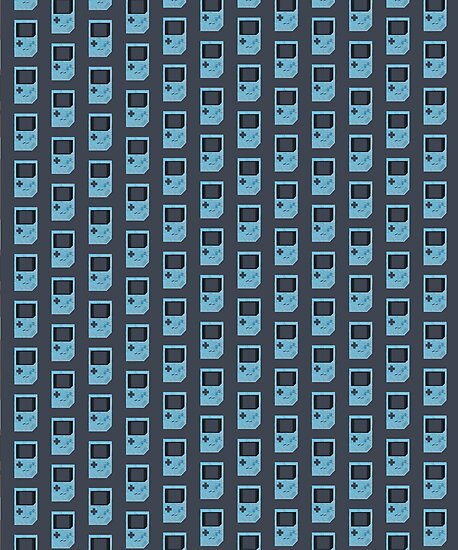 Baby Blue Game Boy by JakeRhodes