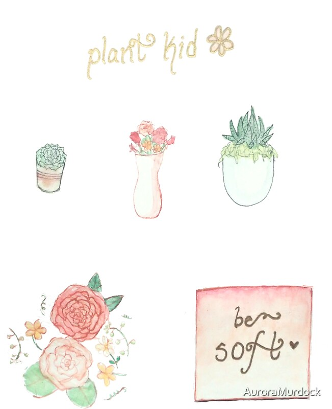 Quot Plant Kid Sticker Sheet Quot Stickers By Auroramurdock