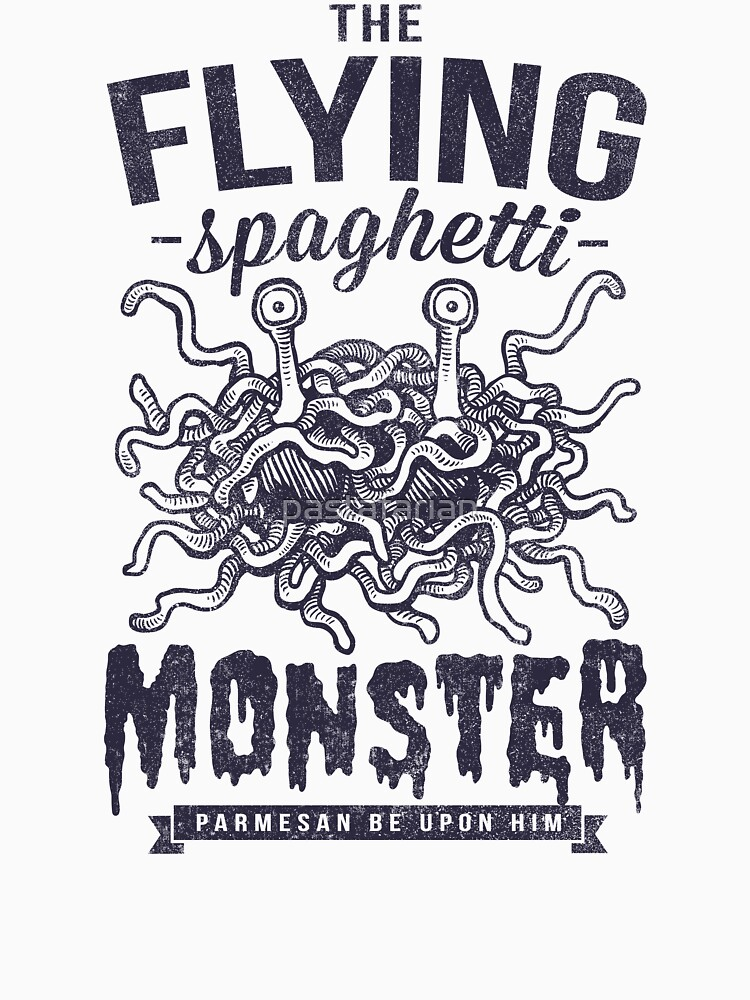 The Flying Spaghetti Monster by pastafarian