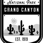 Grand Canyon National Park Arizona Badge  by nationalparks