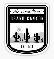 Grand Canyon National Park Arizona Badge  Sticker