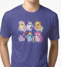 Friendship is Magic Tri-blend T-Shirt
