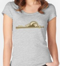 The Afternoon Ebb Women's Fitted Scoop T-Shirt