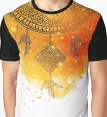 Colorful abstract background with dreamcatcher Graphic T-Shirt