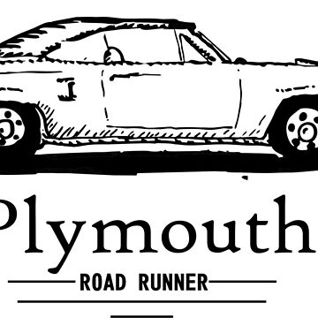 Plymouth Road Runner by claycerny