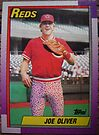 278 - Joe Oliver by Foob's Baseball Cards