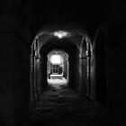 Seaton Delaval Hall corridor underneath by Tony Blakie