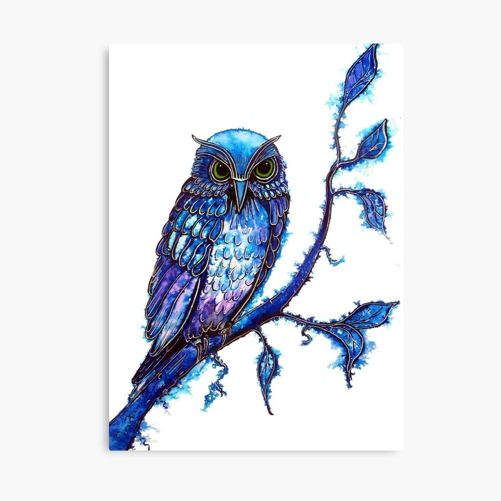 Owl - The Wisdom Keeper Canvas Print