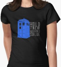 Something Blue Women's Fitted T-Shirt