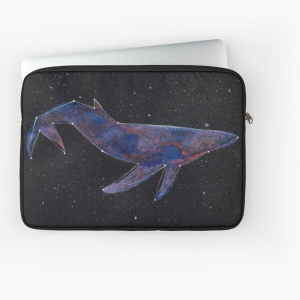 Constellation Galaxy Whale Laptop Sleeve