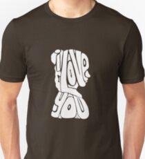 Princess Leia - I Love You T-Shirt