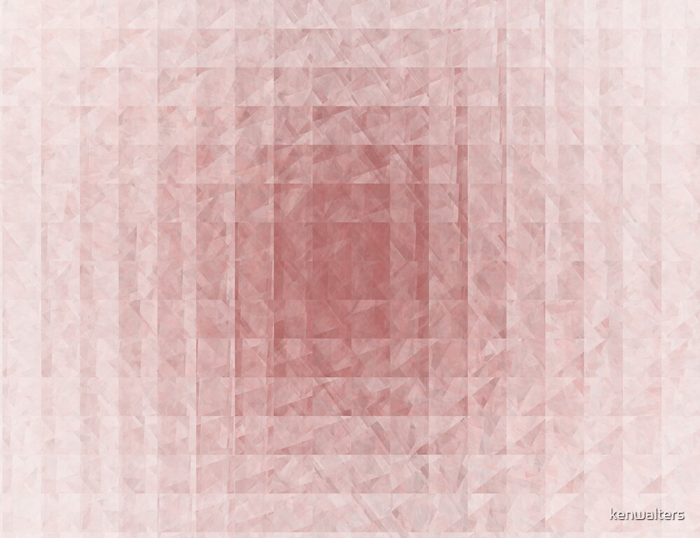 Pink quilt by kenwalters