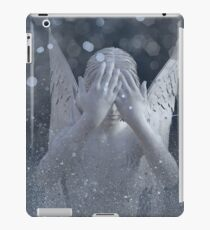 Beware the Weeping Angel - Dr. Who iPad Case/Skin