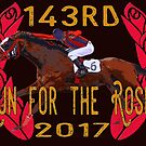 143rd Run for the Roses - Horse Racing by Ginny Luttrell