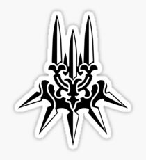 YoRHa (logo only - Black) Sticker