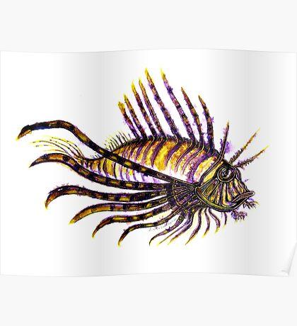 Lion Fish  Poster