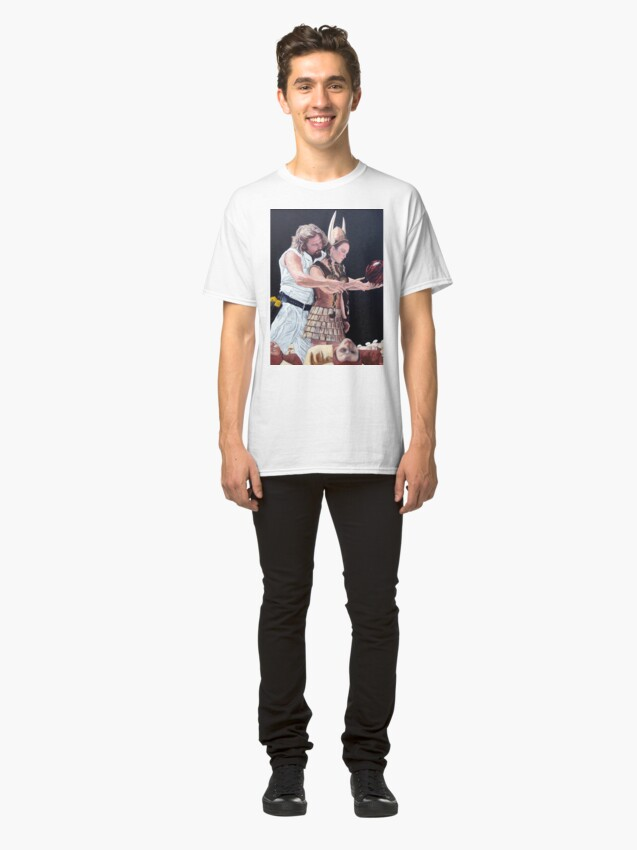 Alternate view of I Just Dropped In Classic T-Shirt