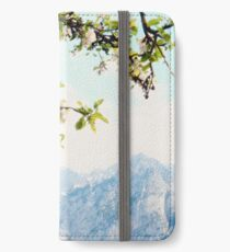 Apple Blossoms and Mountains  iPhone Wallet/Case/Skin