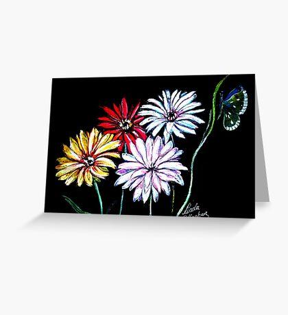 Flower Glow Greeting Card