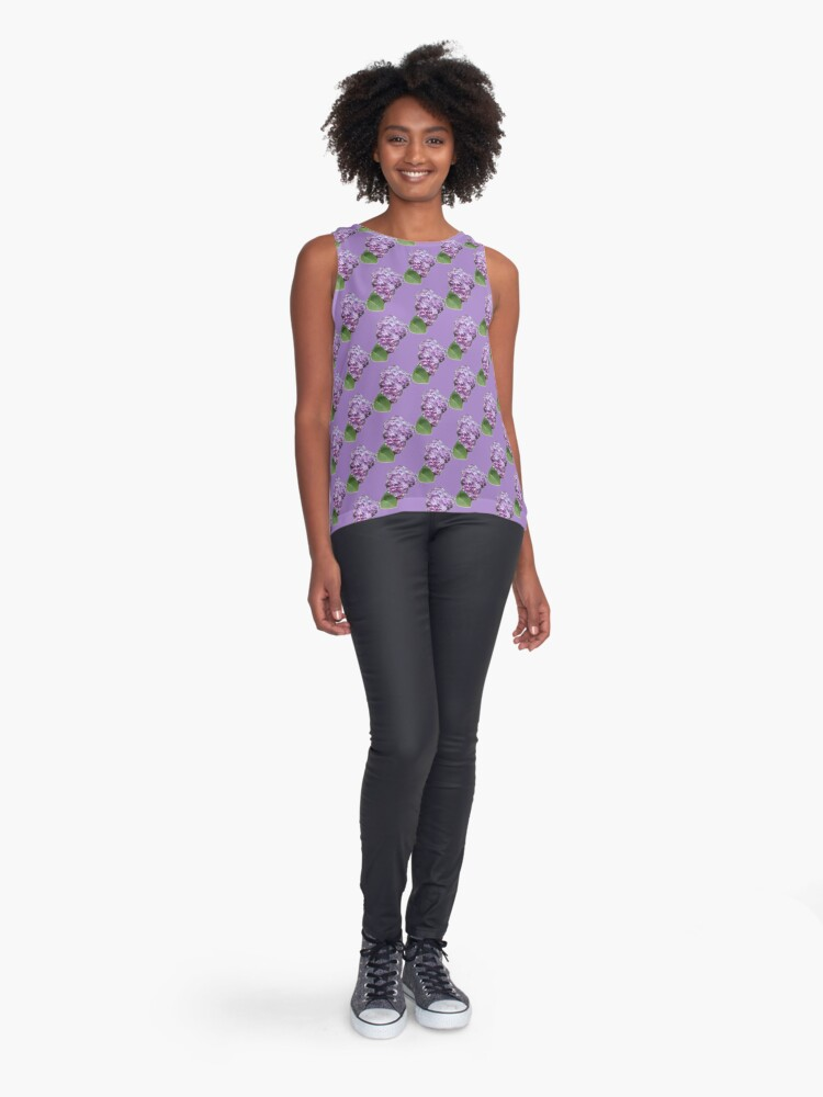 Alternate view of Spring Lilac Sleeveless Top