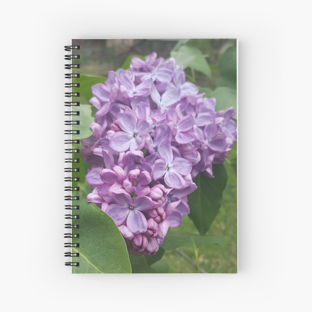 Spring Lilac Spiral Notebook