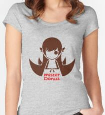 MISTER DONUT Women's Fitted Scoop T-Shirt