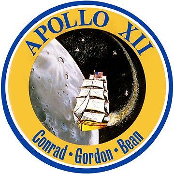 Apollo 12 Mission Logo by Quatrosales