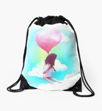 Bubblegum Daydream Drawstring Bag