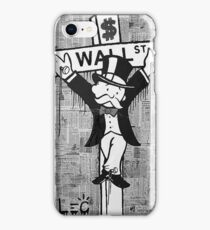 Wall St. Crucifix iPhone Case/Skin