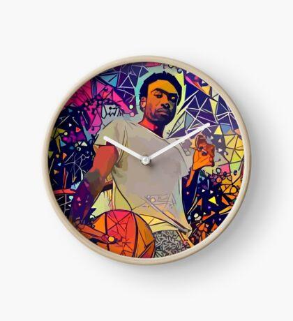 Abstract Gambino Clock
