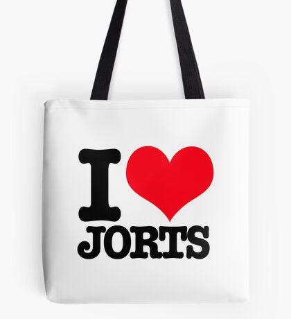 I <3 Jorts Tote Bag