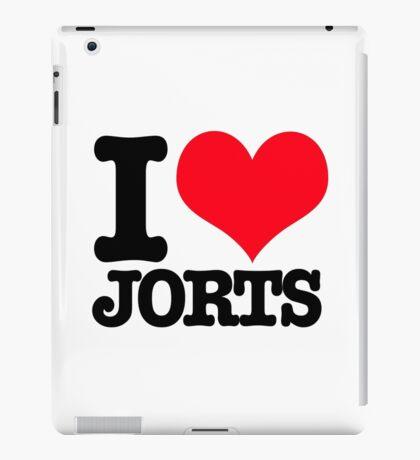 I <3 Jorts iPad Case/Skin