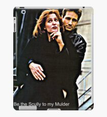 x files iPad Case/Skin