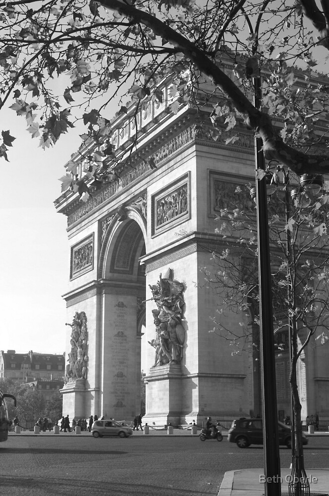 My First View of Paris by Beth Oberle
