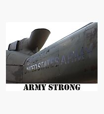 Army Helicopter  Photographic Print