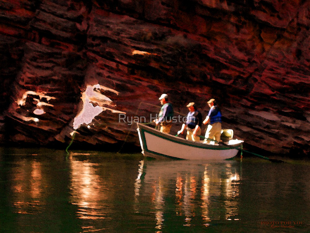 Guide Boat, Green River, UT by Ryan Houston
