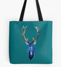 Blue Stag Tote Bag