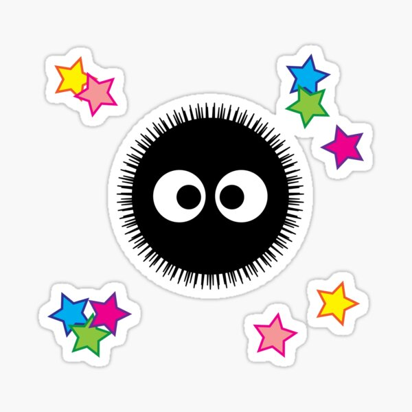 SootBall Sticker