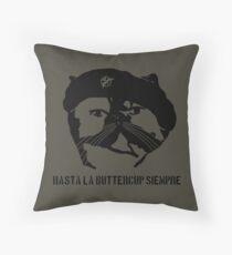 Hasta La Buttercup Siempre Throw Pillow