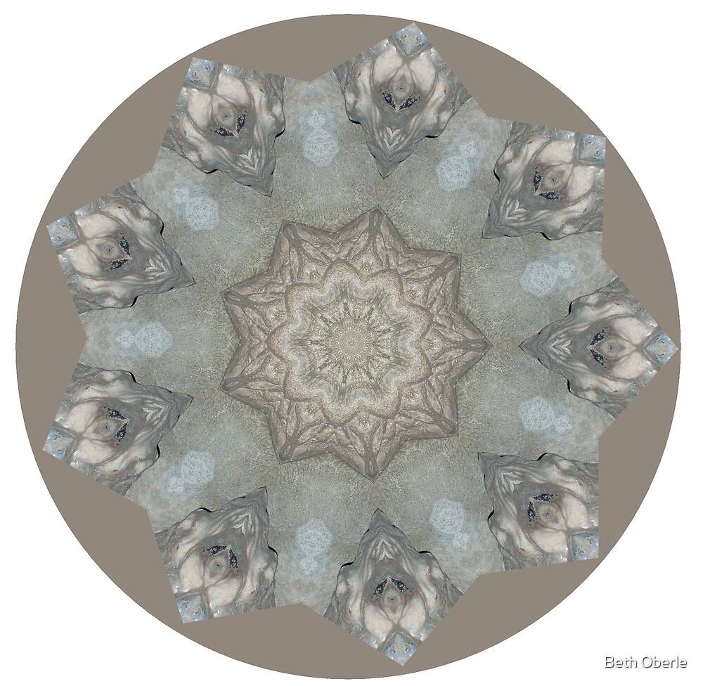 Rosslin Chapel Mandala #7 by Beth Oberle