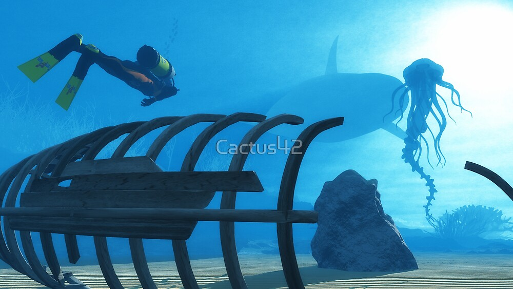 Fonds marins / Seabed by Cactus42